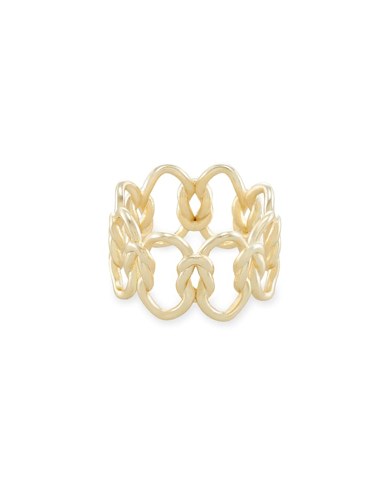 Fallyn Band Ring In Gold