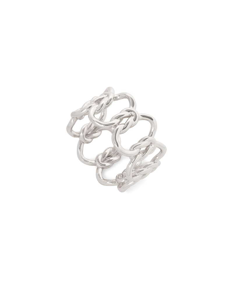 Fallyn Band Ring In Silver