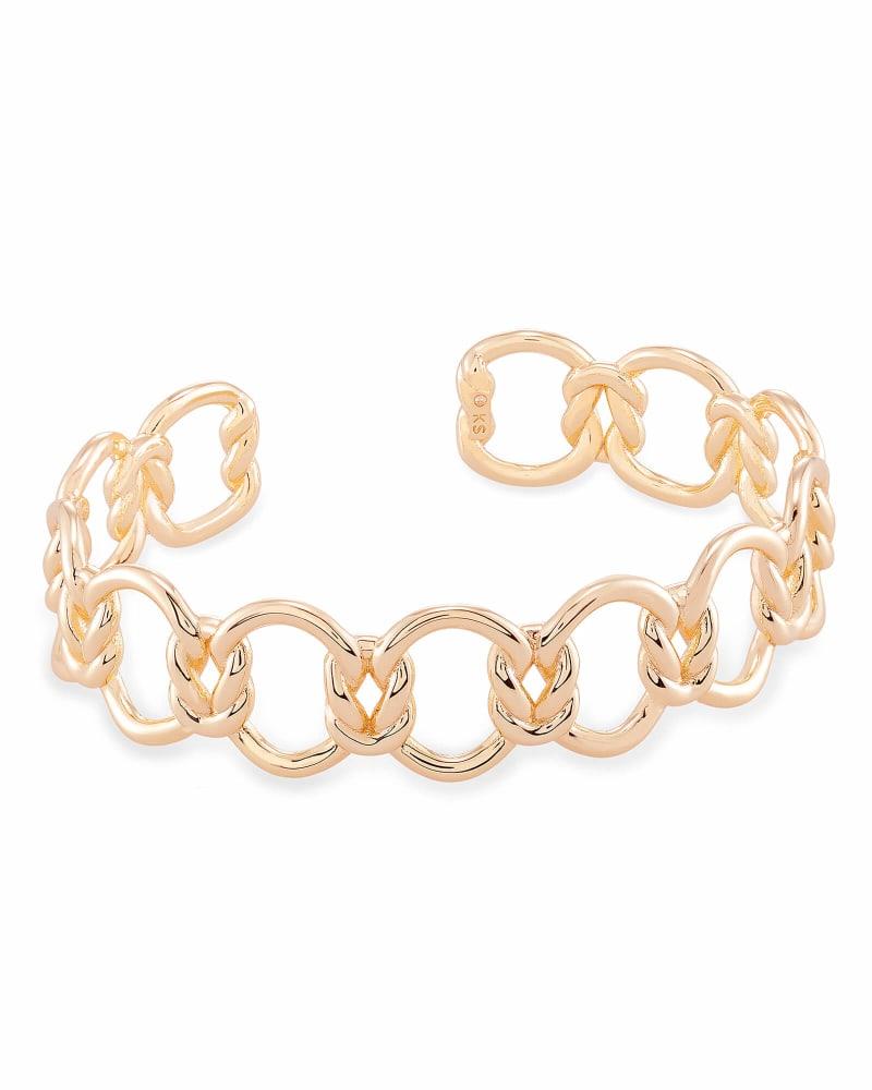 Fallyn Cuff Bracelet In Rose Gold