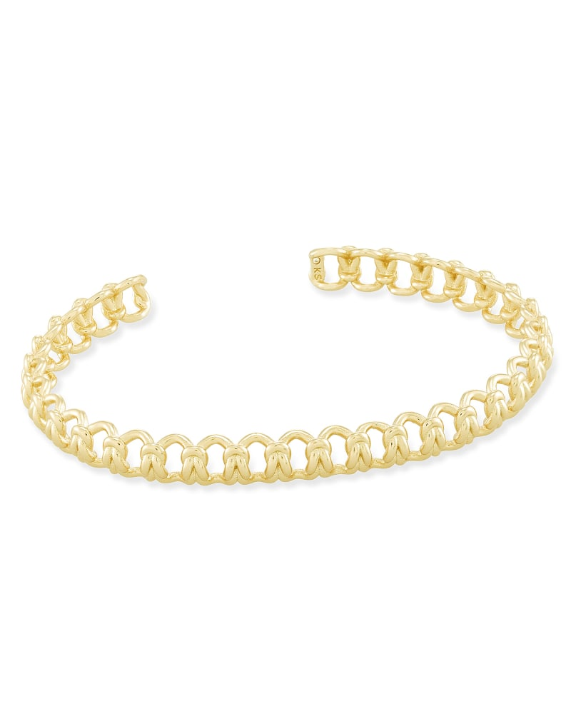 Fallyn Small Cuff Bracelet In Gold | Kendra Scott