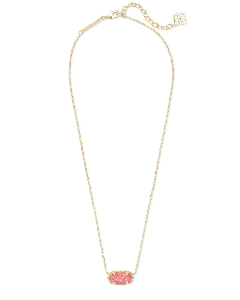 Elisa Pendant Necklace in Gold