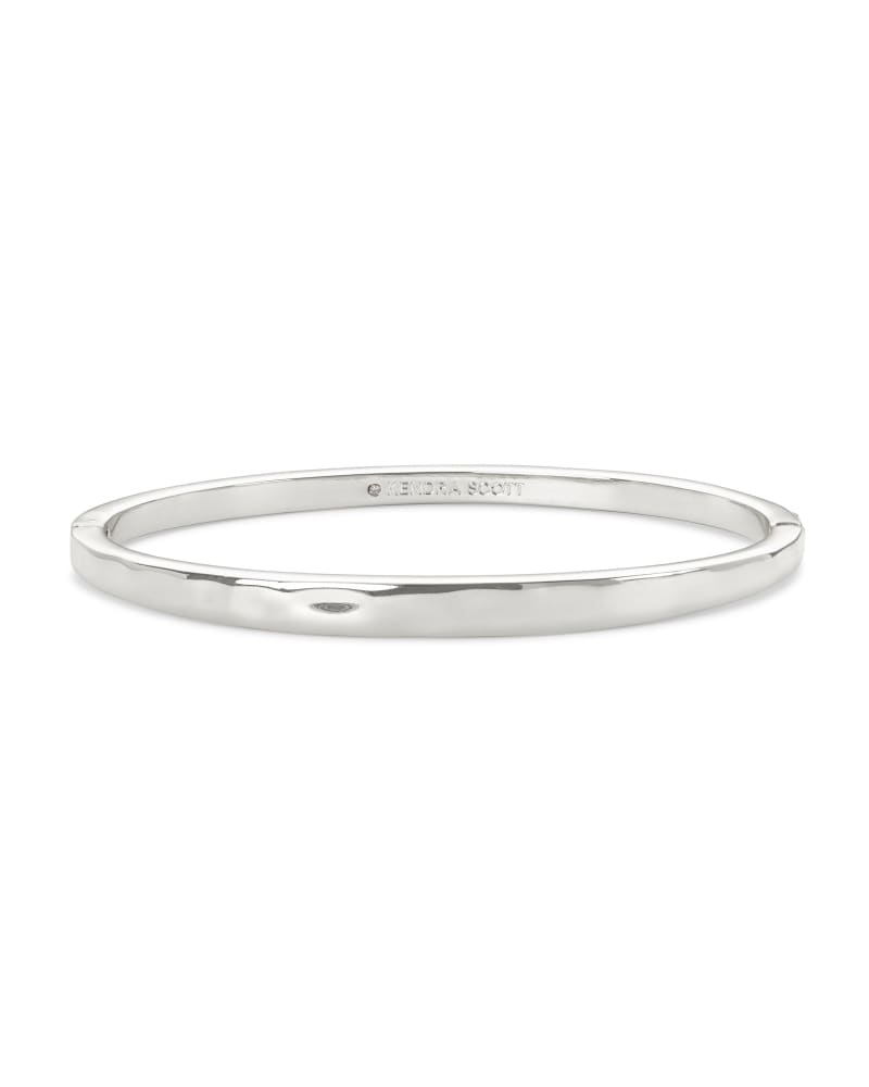 Zorte Bangle Bracelet in Silver