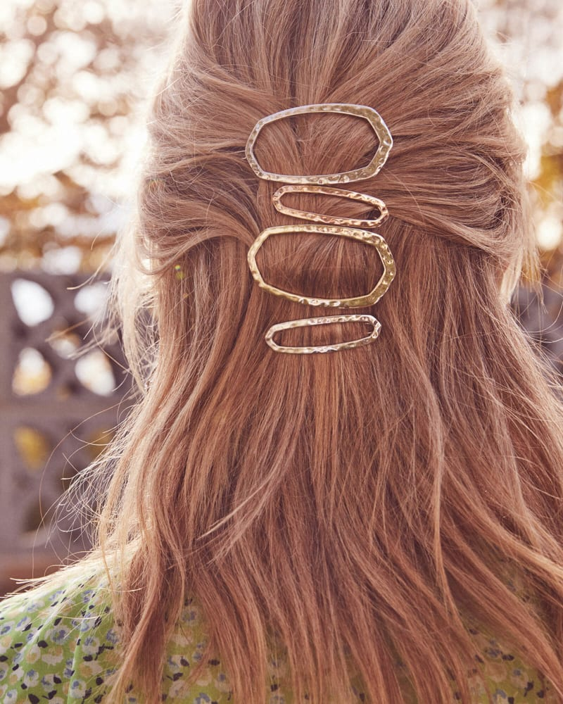 Zorte Barrette in Rose Gold