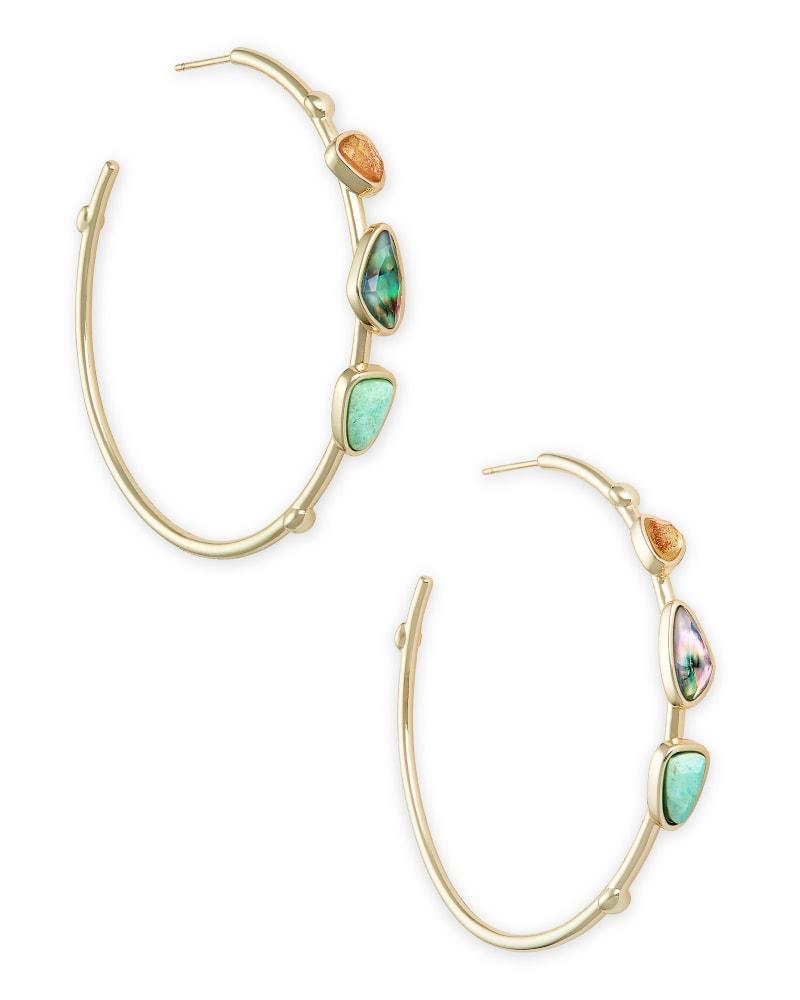 Ivy Hoop Earrings