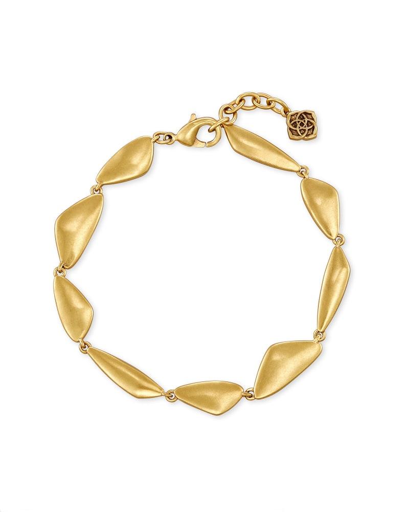 Kira Link Bracelet in Vintage Gold