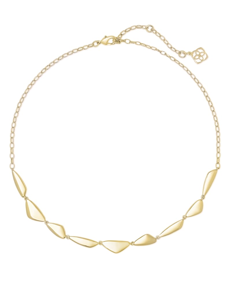 Kira Collar Necklace in Gold