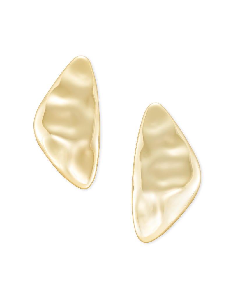 Kira Statement Earrings in Gold