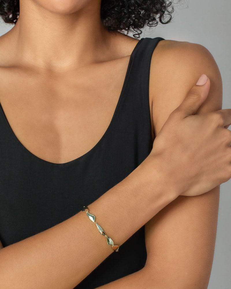 Kira Link Bracelet in Gold
