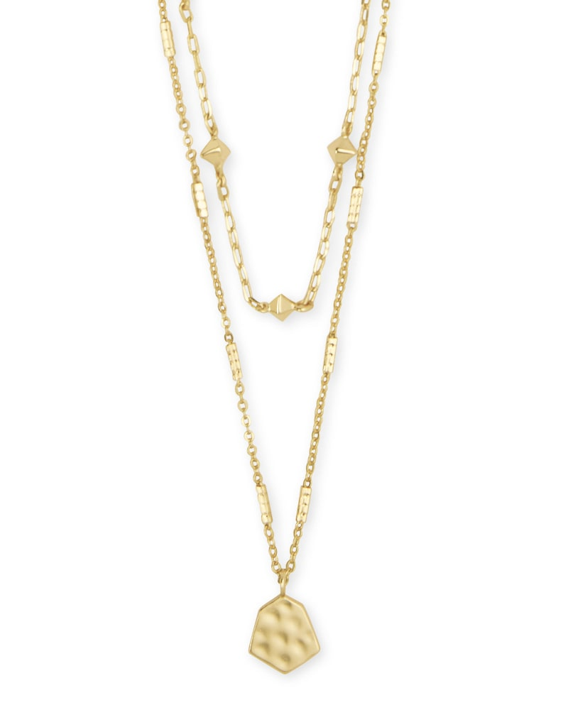 Clove Multi Strand Necklace in Gold | Kendra Scott