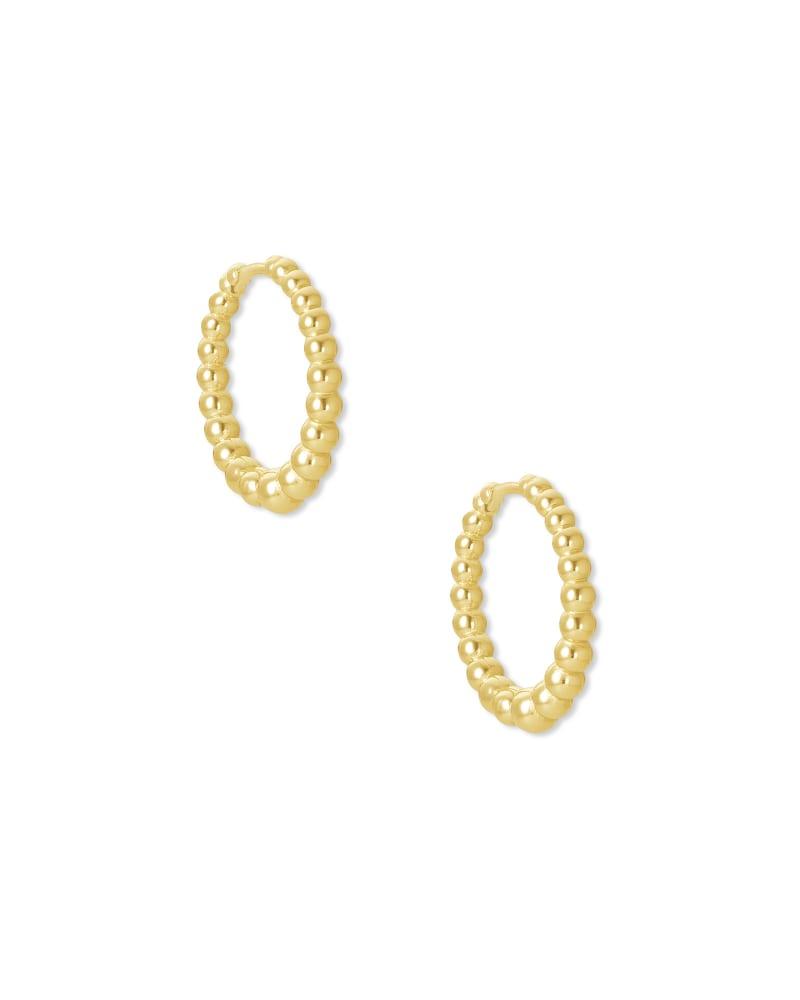 Josie Huggie Earrings in Gold   Kendra Scott