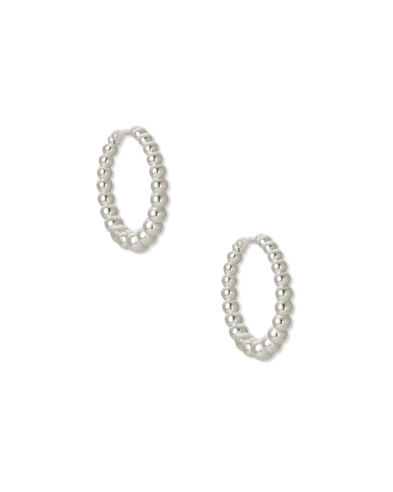 Josie Huggie Earrings in Silver