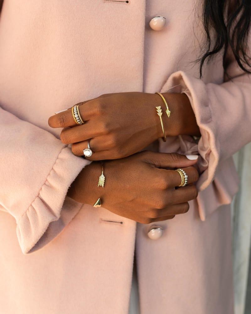Zoey Bangle Bracelet in Gold