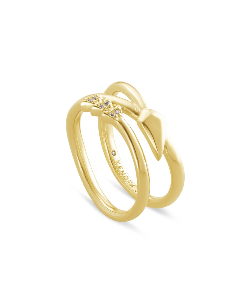 Zoey Wrap Ring in Gold