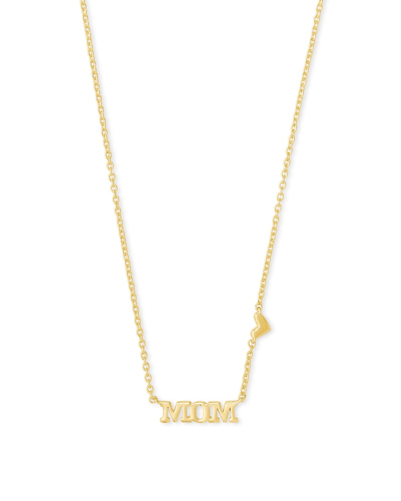 Mom Pendant Necklace in Gold   Kendra Scott