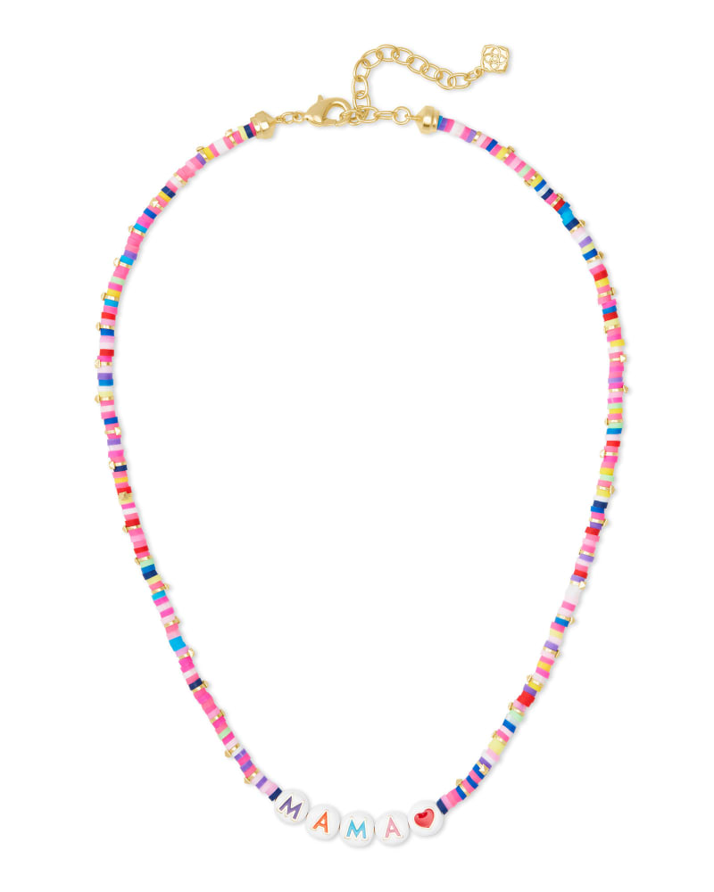 Reece Gold Mama Strand Necklace in Pink Mix