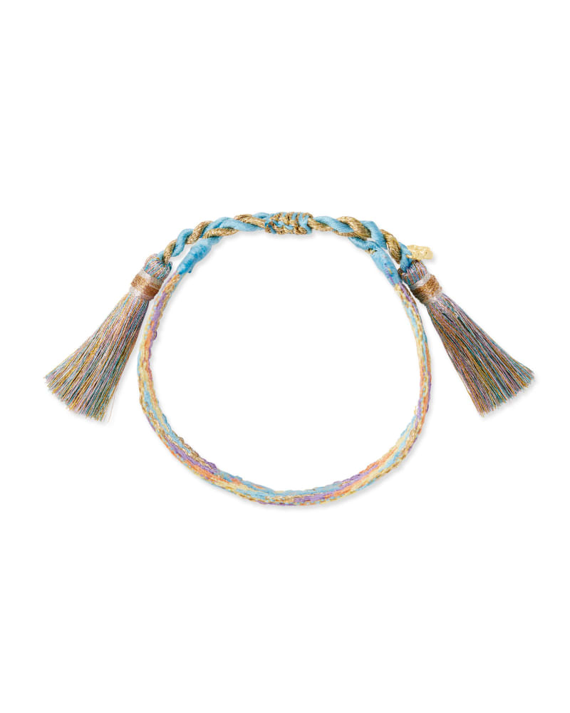 Love Gold Friendship Bracelet in Multi Mix