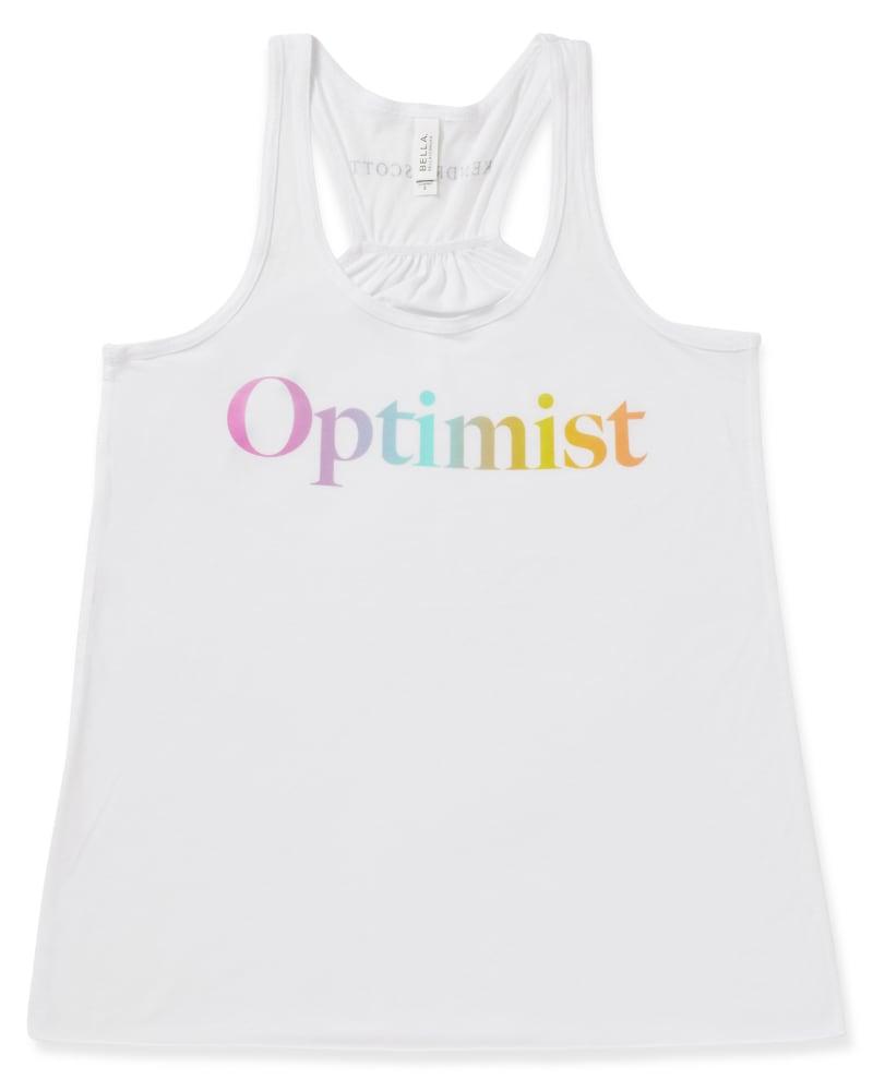 Optimist Tank Top in Ombre Rainbow