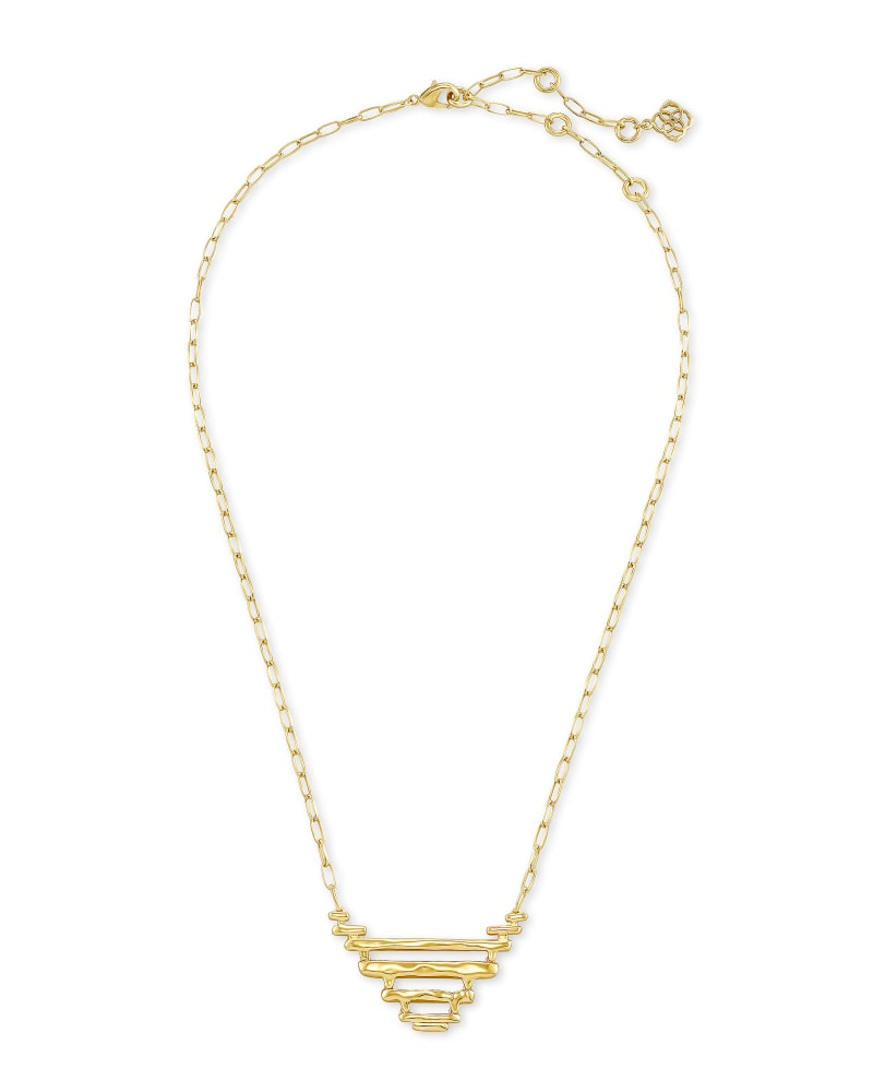 Rylan Pendant Necklace in Gold