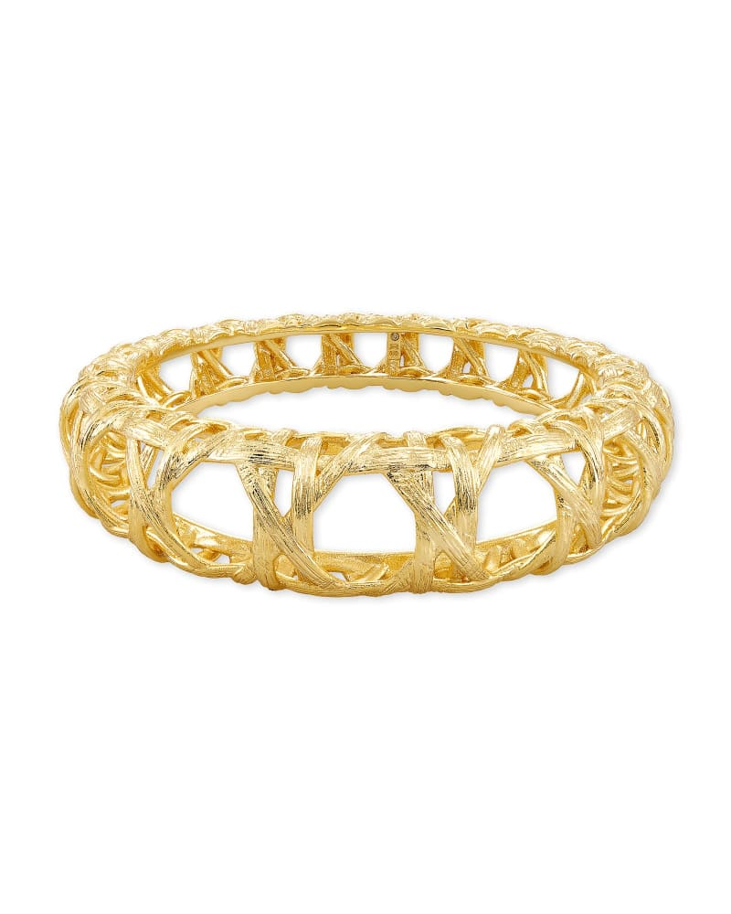 Natalie Bangle Bracelet in Gold