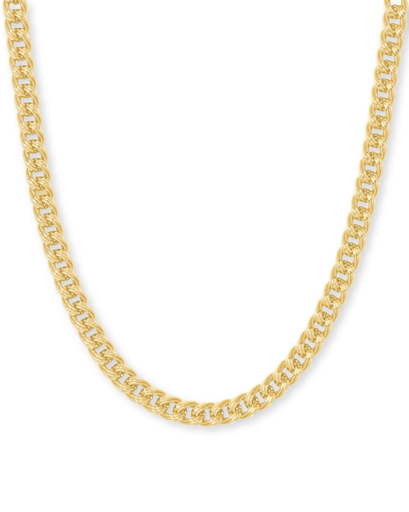 Vincent Chain Necklace in Gold   Kendra Scott