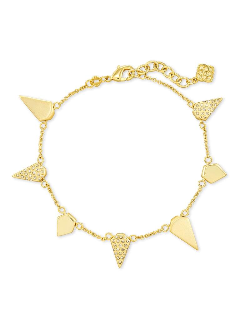 Demi Chain Bracelet In Gold