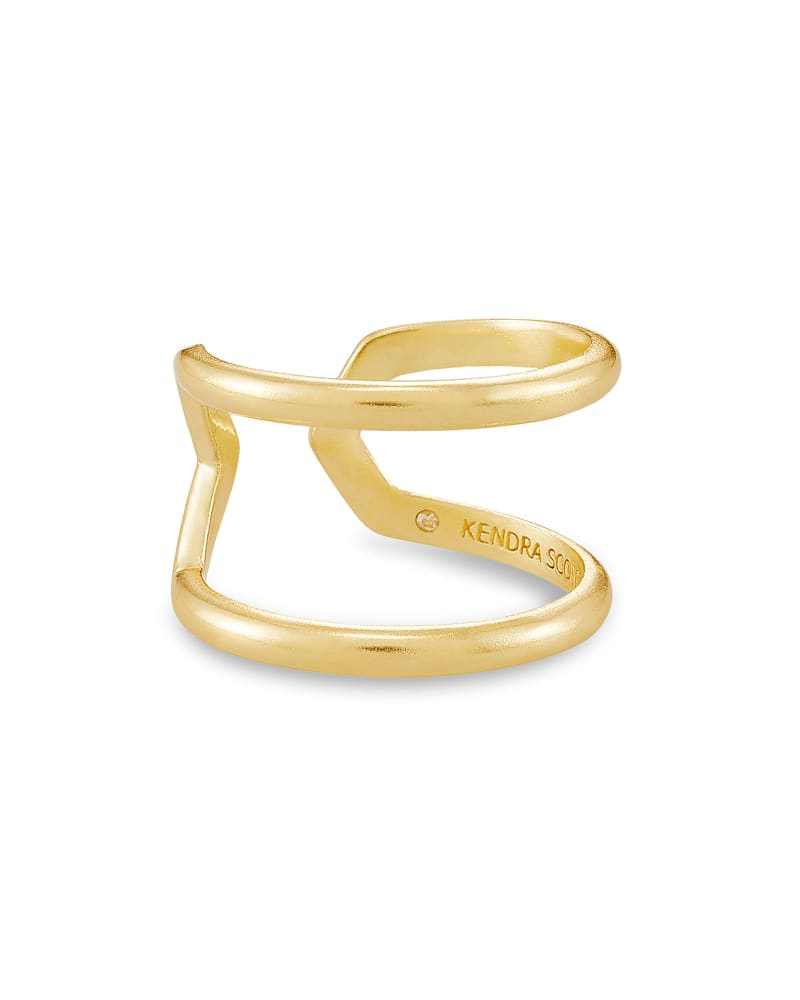 Mikki Open Ring In Gold