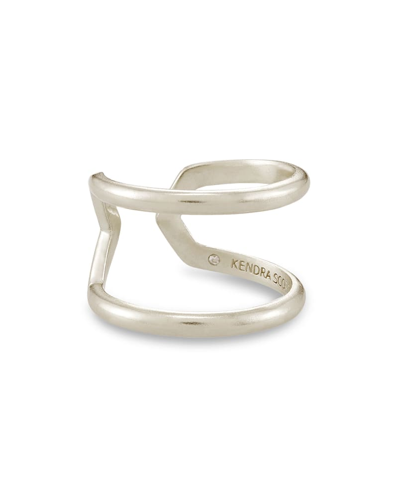 Mikki Open Ring In Silver