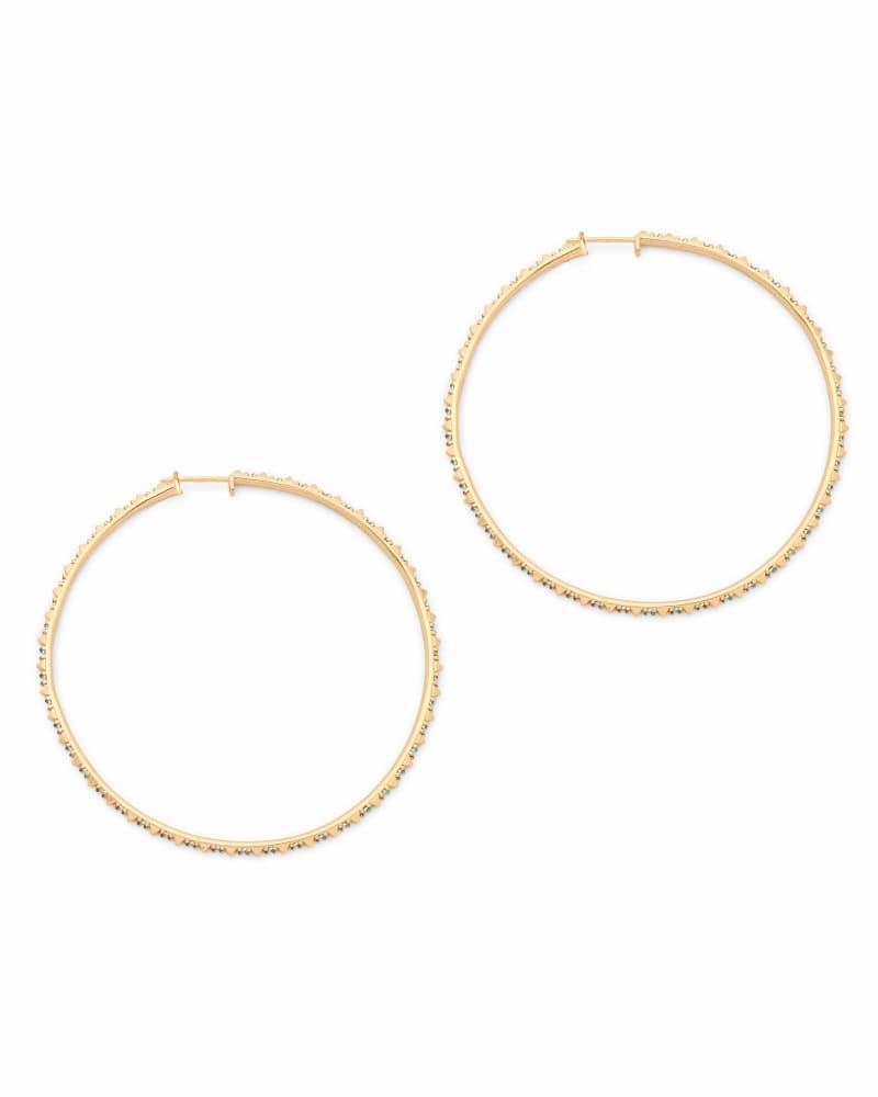Annemarie Hoop Earrings in Gold