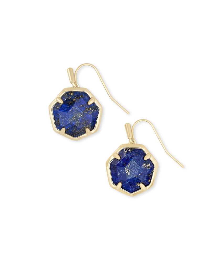 Cynthia Gold Drop Earrings