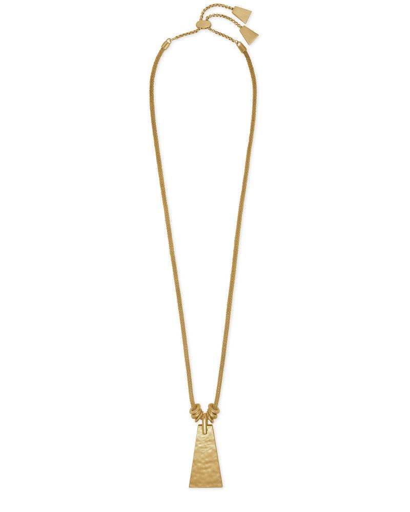 Keerti Long Pendant Necklace