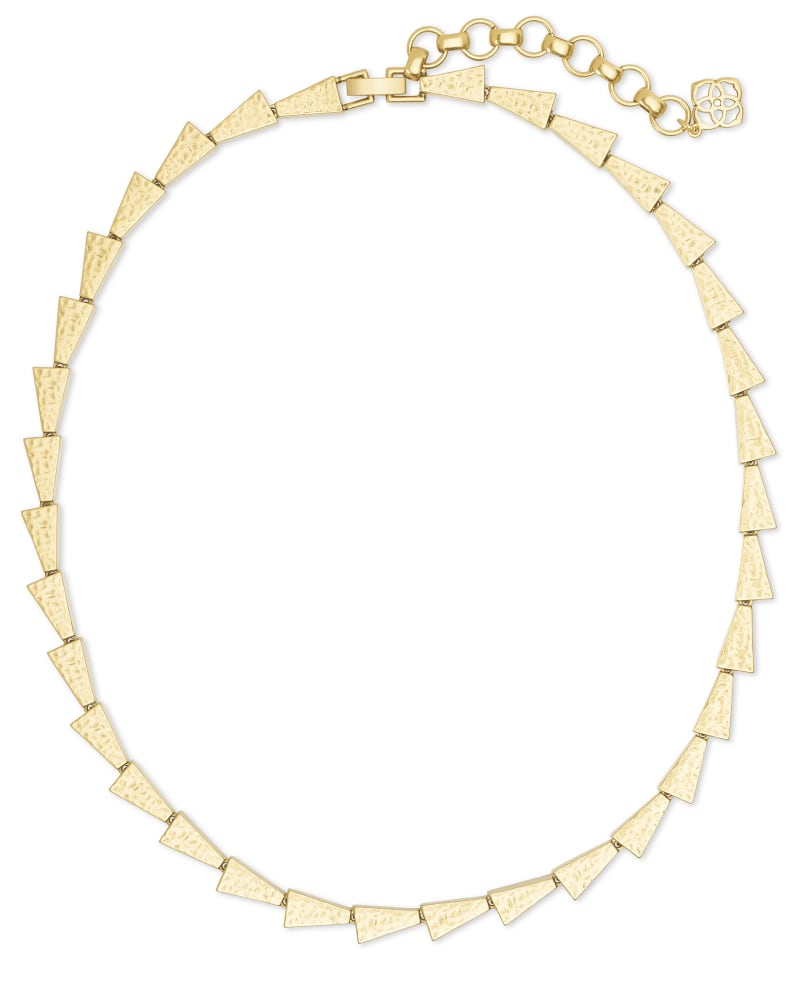 Leon Collar Necklace in Gold