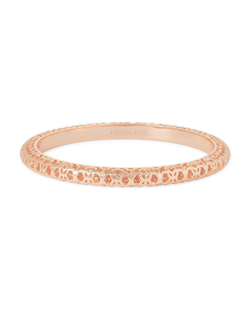 Maggie Bangle Bracelet in Filigree