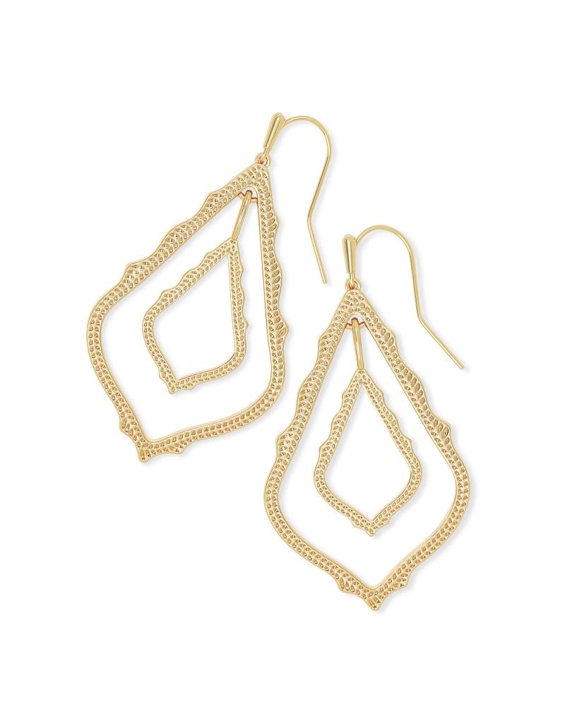Simon Drop Earrings in Gold | Kendra Scott