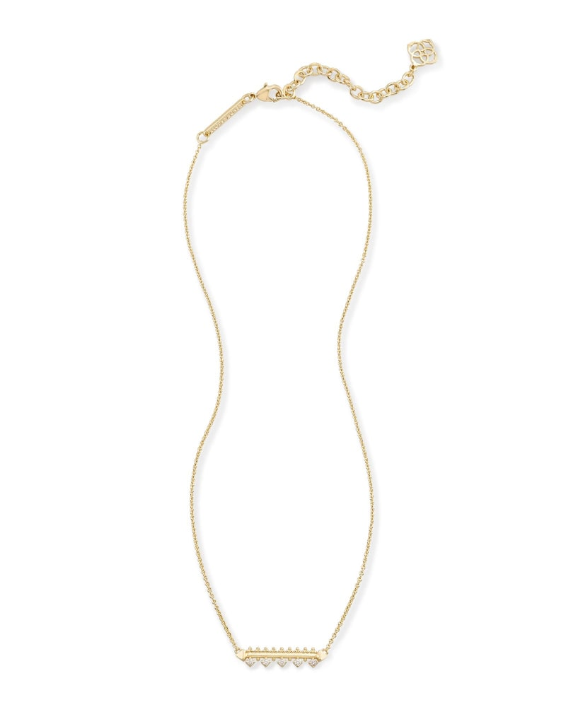 Anissa Bar Pendant Necklace