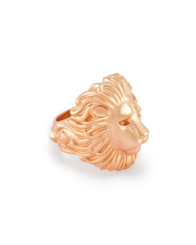 Collin Cocktail Ring in Rose Gold - 7