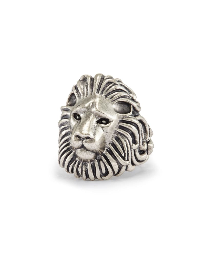 Collin Cocktail Ring in Antique Silver