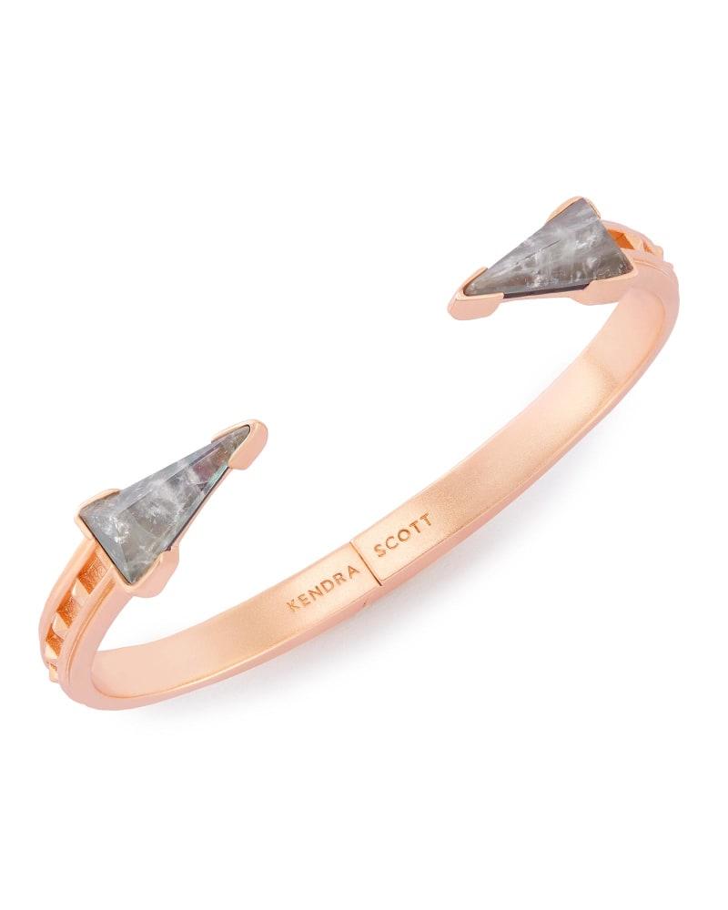 Misty Hinge Bracelet in Crystal Gray Illusion