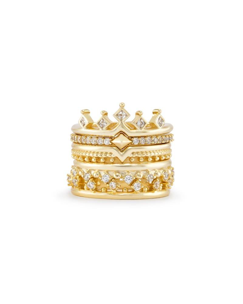 Violette Stackable Ring Set