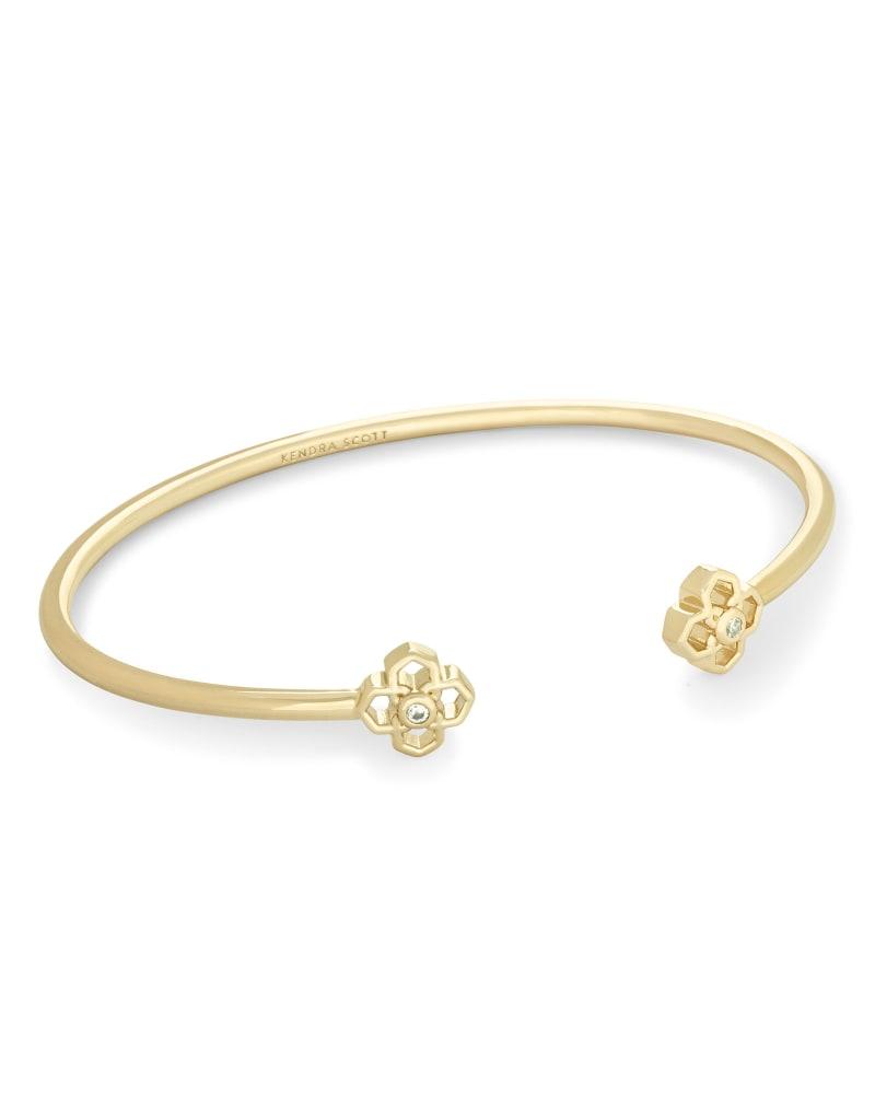 Rue Cuff Bracelet In Gold
