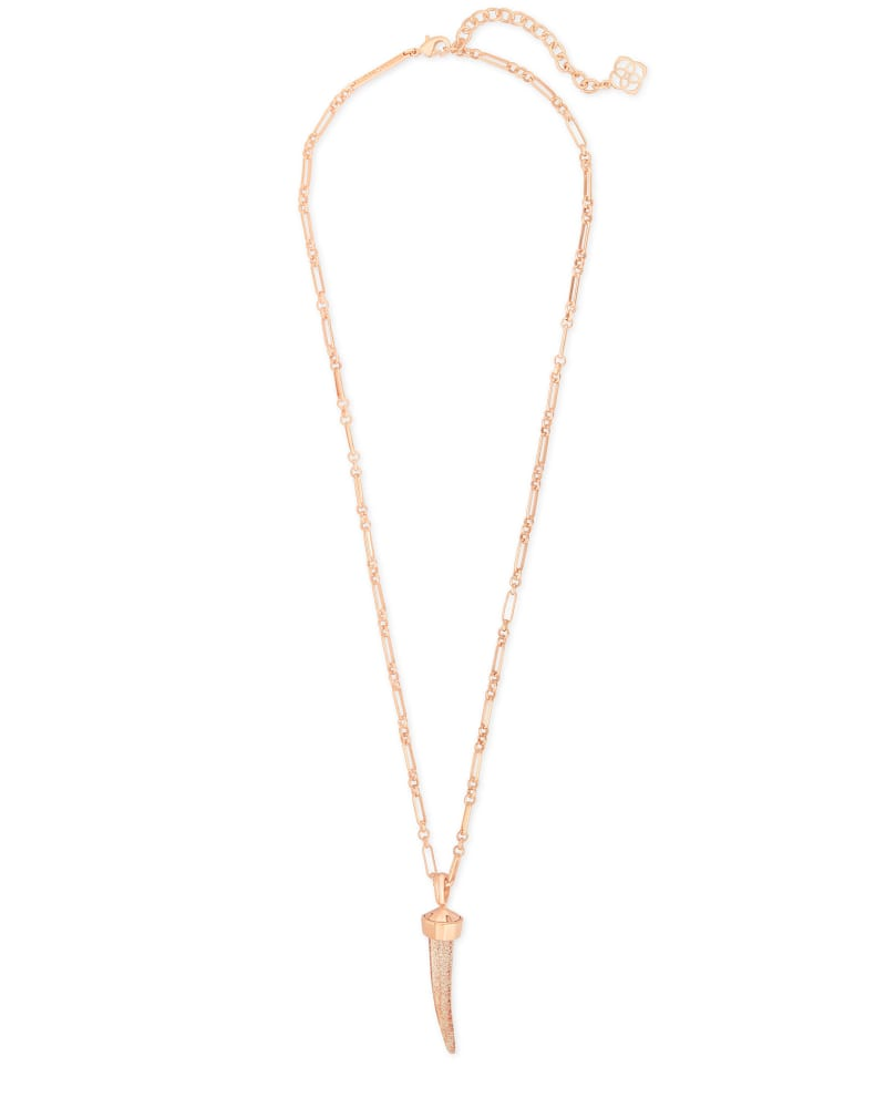 Samuel Rose Gold Pendant Necklace In Gold Dusted Mix