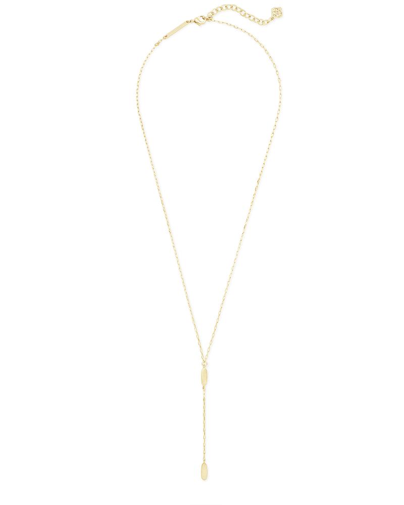 Fern Y Necklace