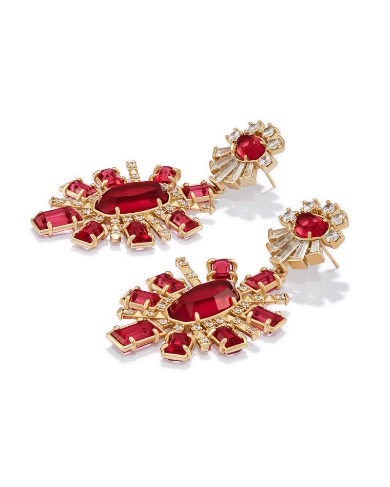 Glenda Statement Earrings