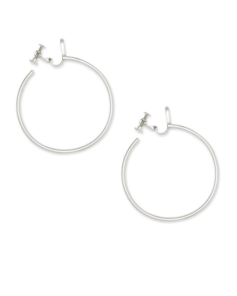 Pepper Clip On Hoop Earrings