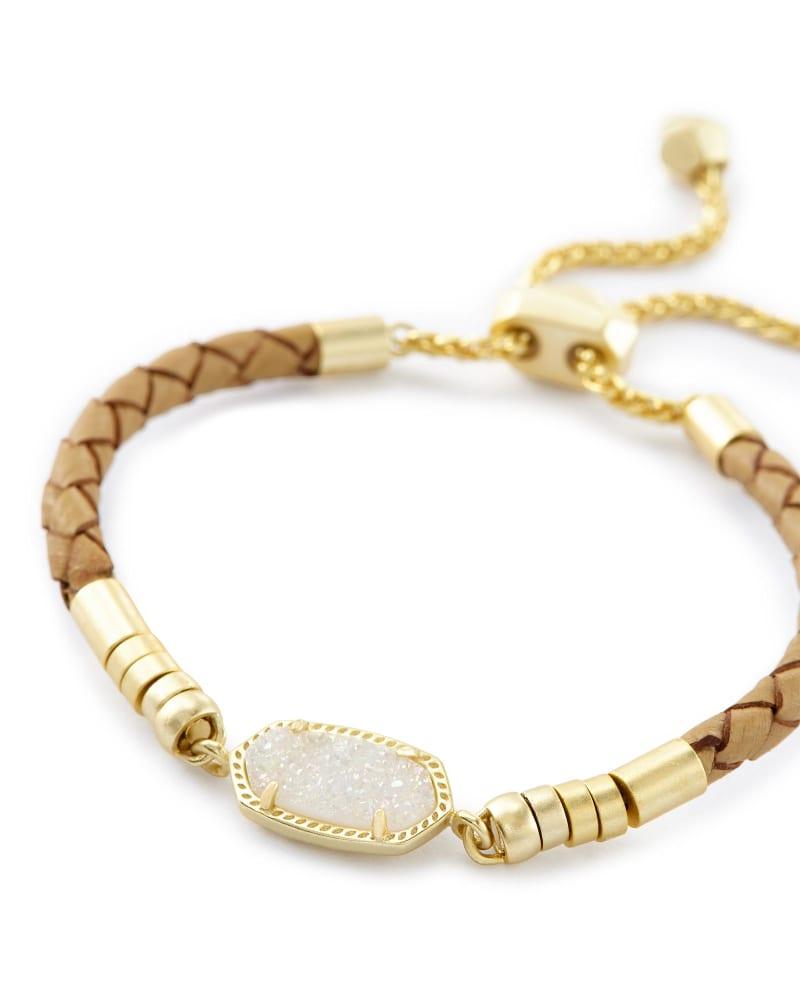 Cruz Adjustable Leather Bracelet