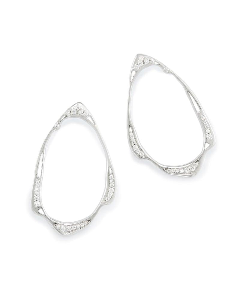 Livi Stud Earrings in Silver