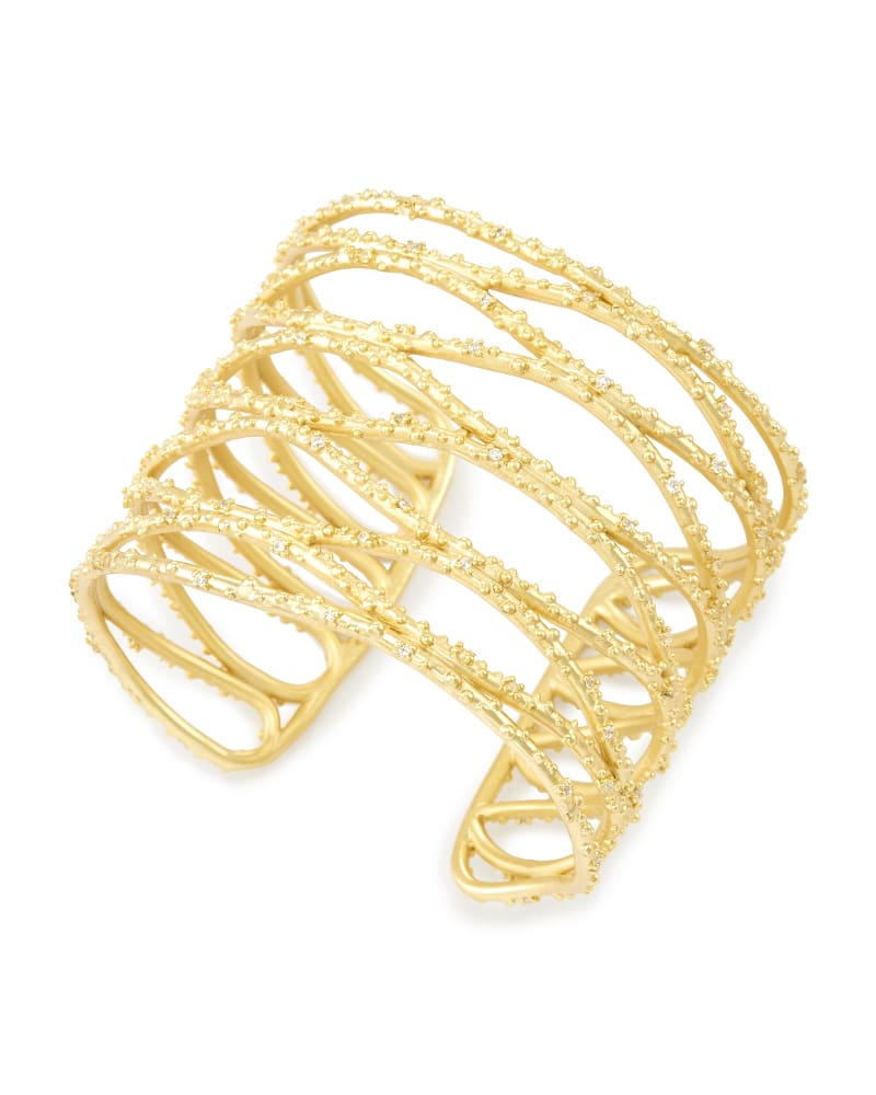 Nicolas Cuff Bracelet in Gold