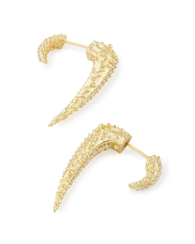 Sera Ear Jackets in Gold