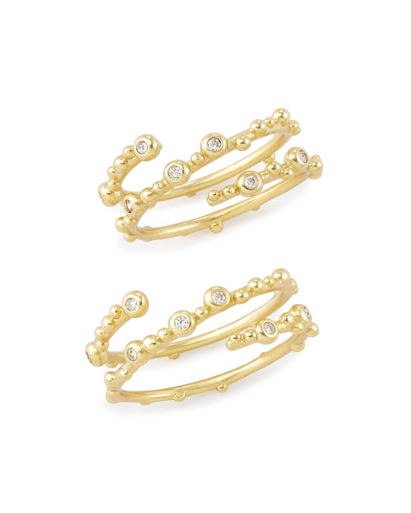 Zoe Ring Set in Gold - M/L