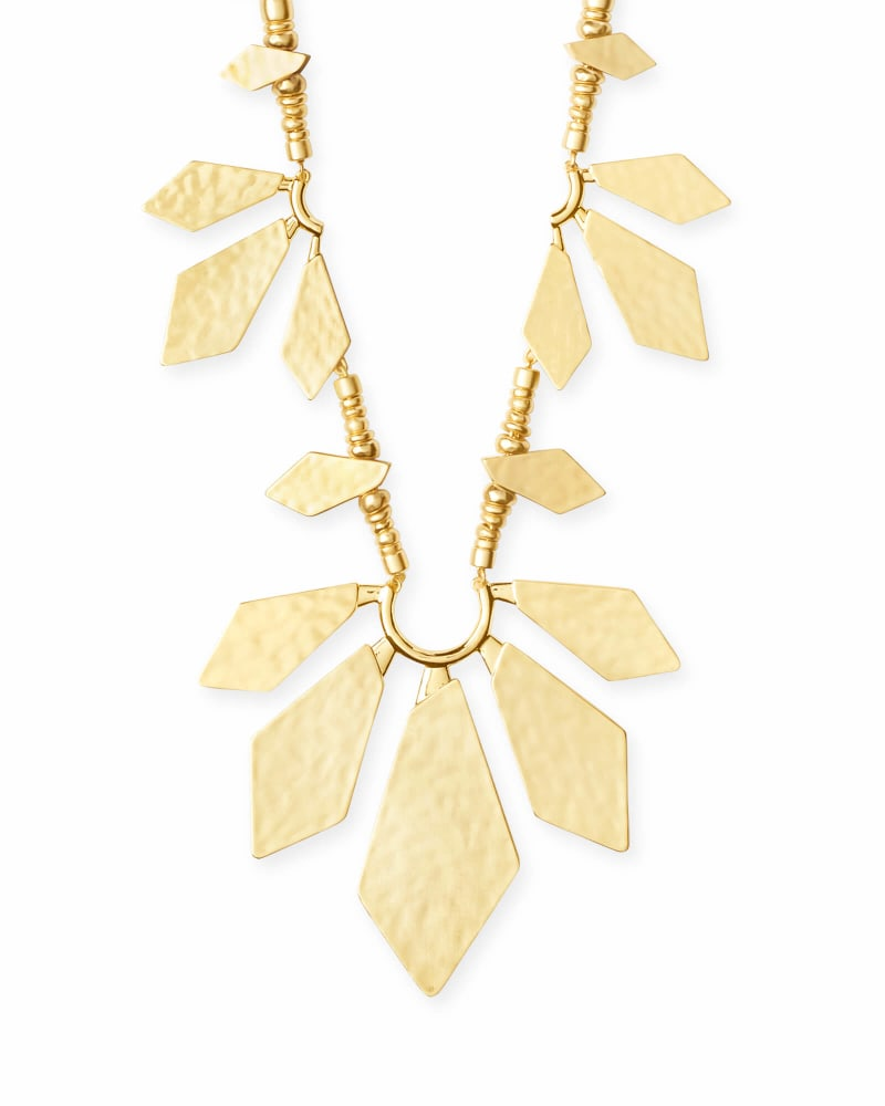 Keaton Statement Necklace in Gold