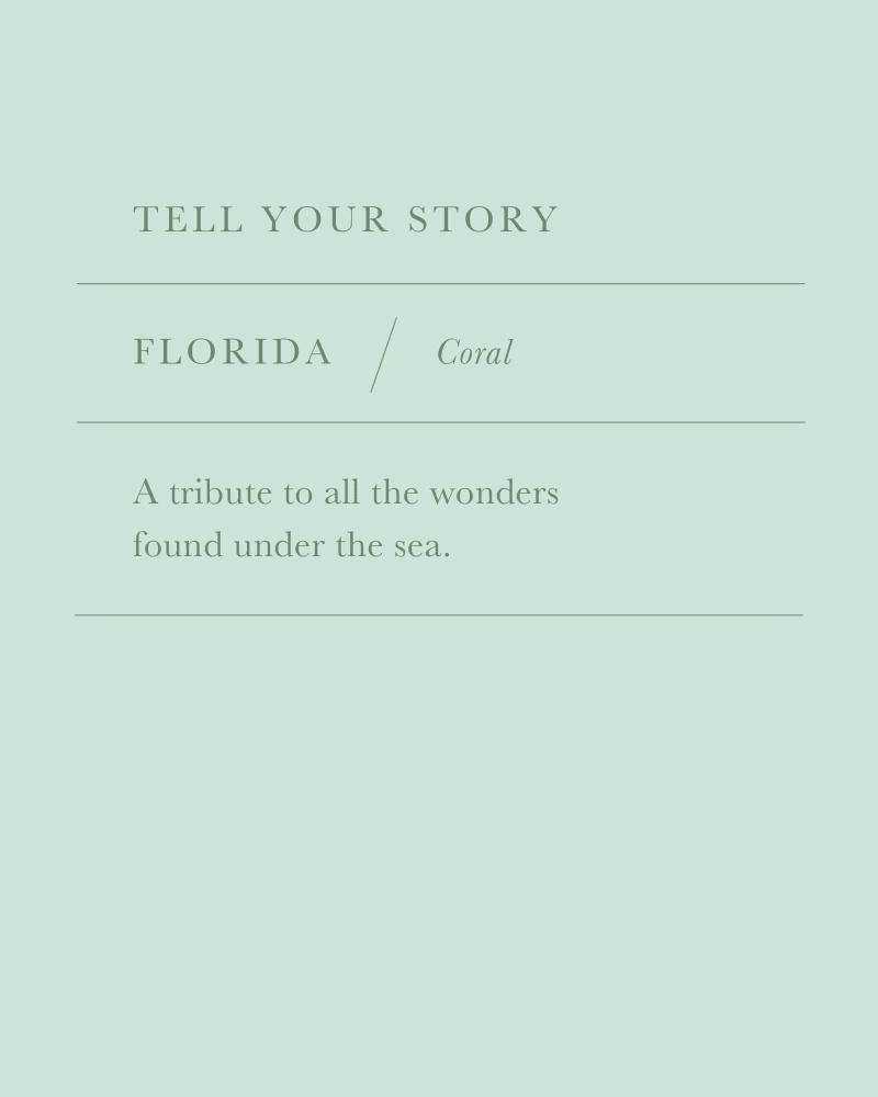 Florida Coral Charm